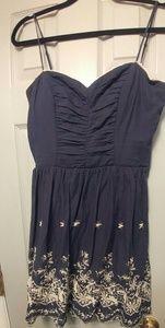 Navy blue summer dress!
